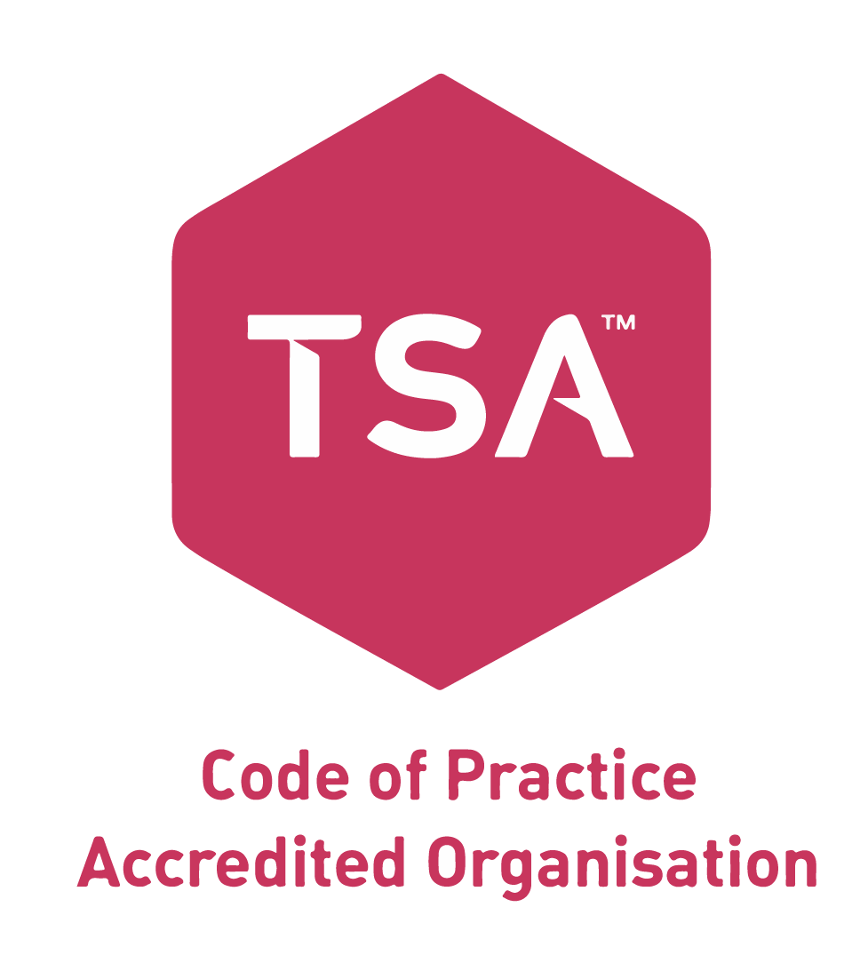 TSA Code of Practice Accredited Organisation