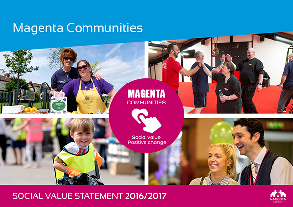 Magenta Communities front cover