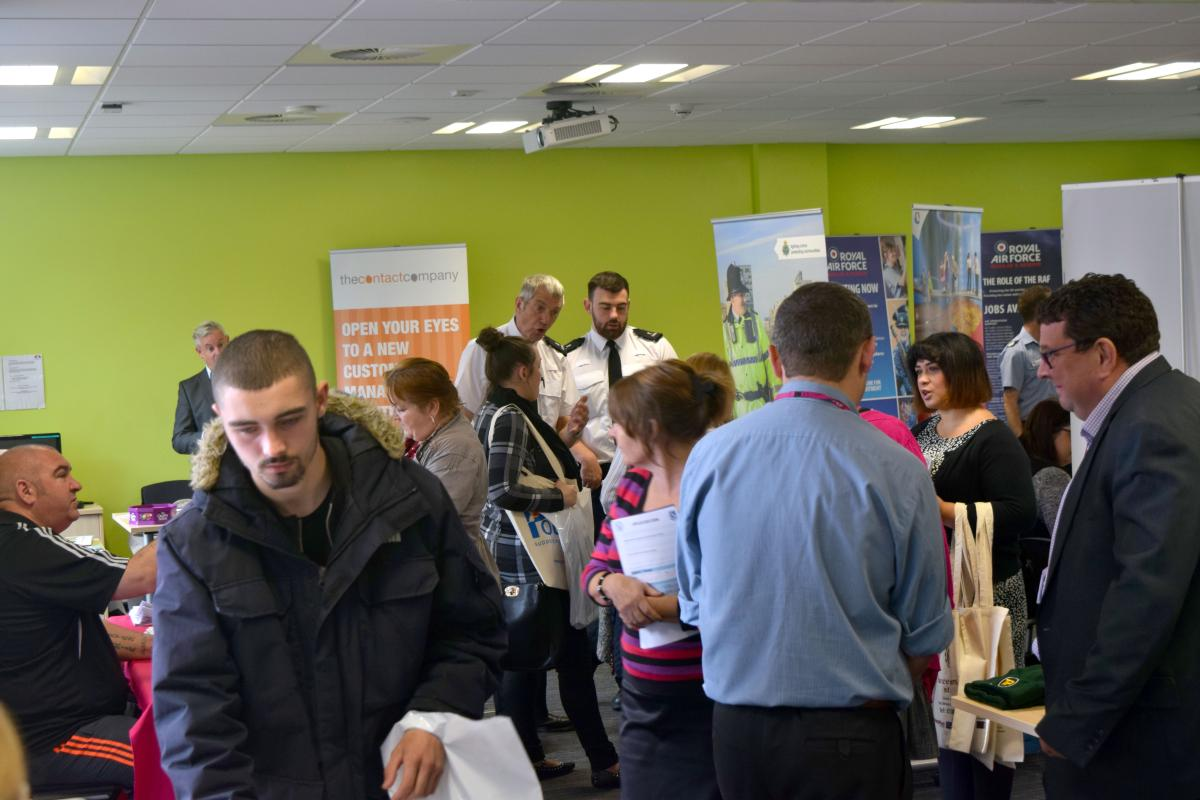 WoW employment event 2017