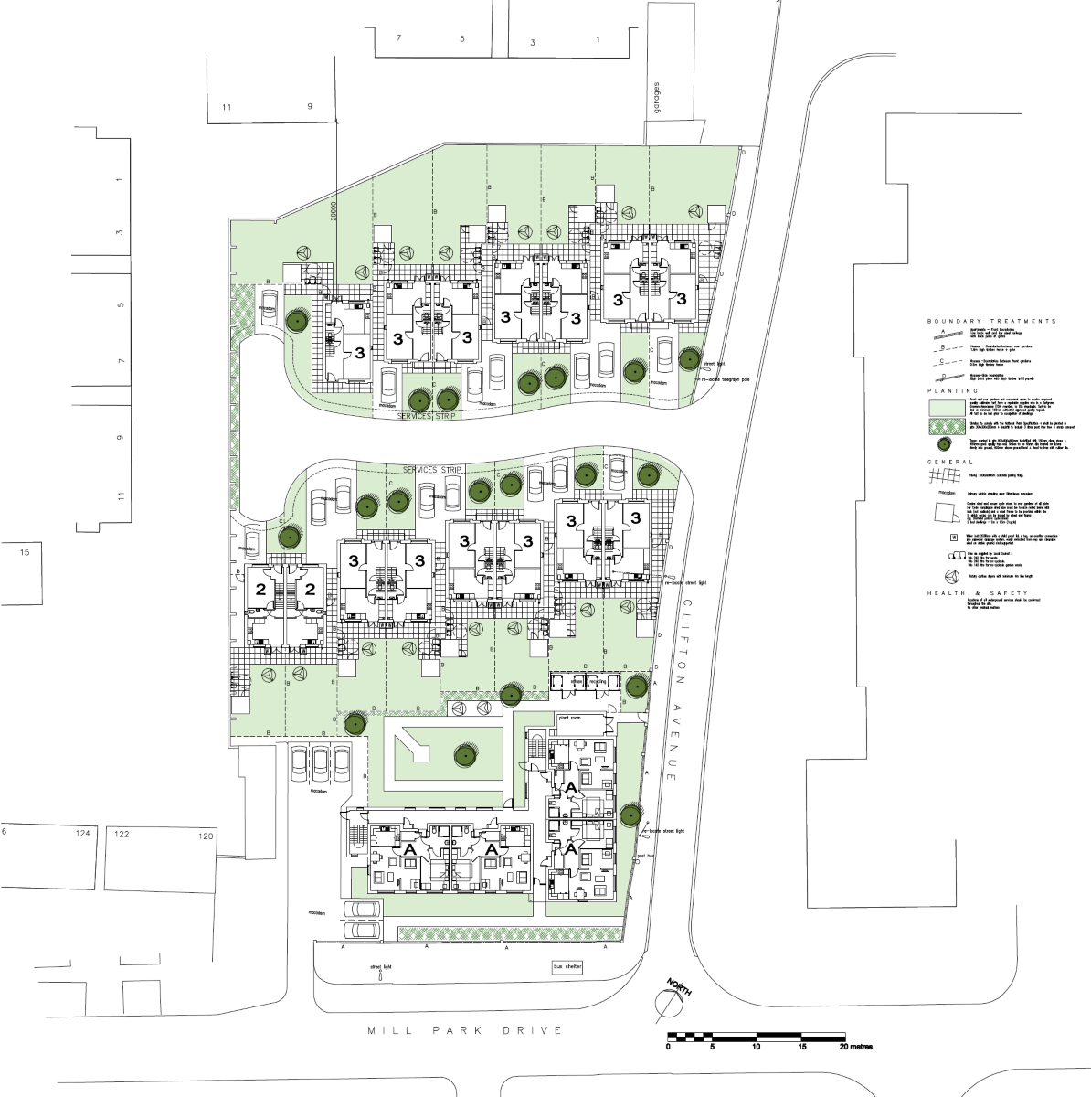 Clifton Avenue Site Plan