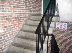 Example of an A scoring stairway
