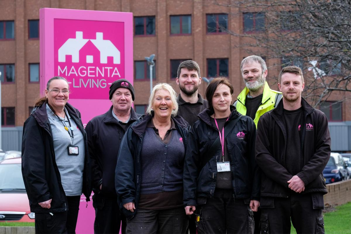 Magenta Living's Environmental Services Team