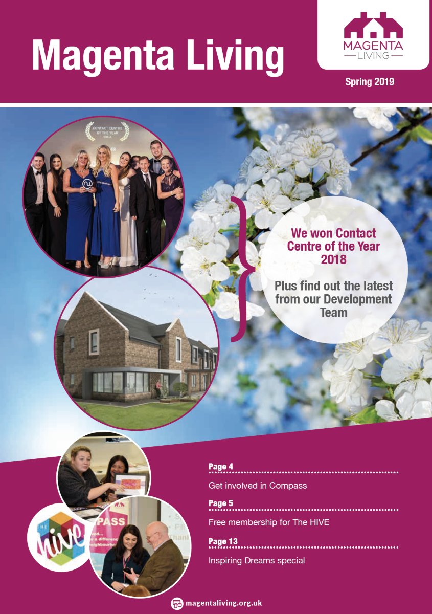 Spring Newsletter 2019 - Cover