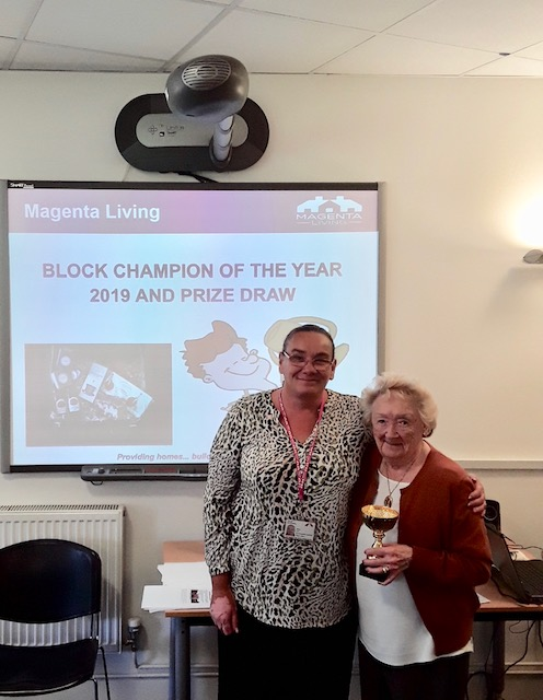Mrs Culley - Block Champion