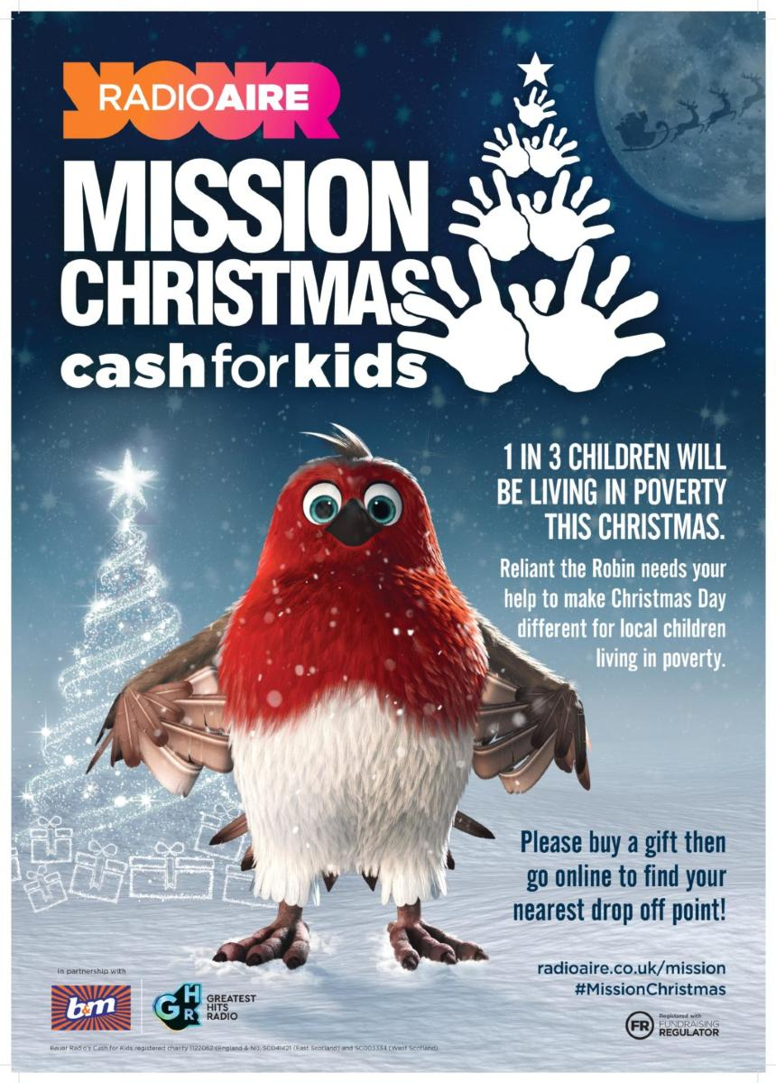 Mission Christmas poster